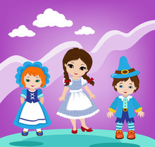 Illustration Of Dorothy And T...