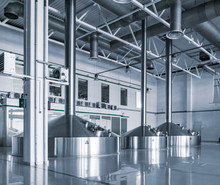 Modern Interior Of A Brewery M...