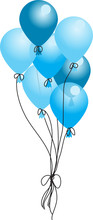 Vector Balloon It's A Boy