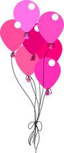 Vector Balloon It's A Girl