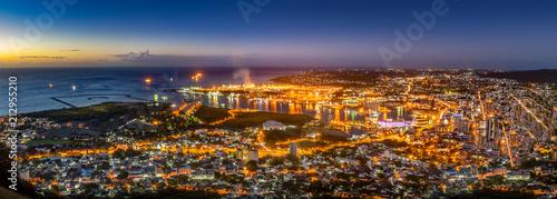 Fotografie, Obraz Mauritius Port-Louis panorama