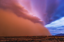 Dust Storm Moves Through The A...