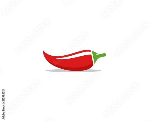 Pepper logo Fototapeta