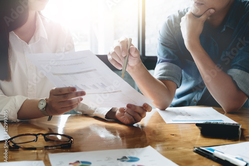 Papel de parede Business people working together