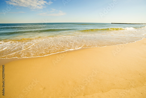 Staande foto Strand lonesome beach of the Baltic Sea