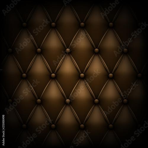 Stock Vector Ilration Leather Upholstery Genuine Luxury Background Eps 10