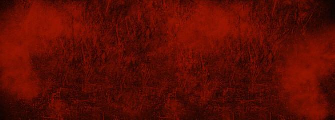 Fototapeta Vintage Grunge red background texture. Abstract grunge Dark red Background, Texture.