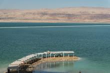 Ein Bokek Beach In The Dead Sea