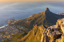 Sunset Over Lions Head, Cape T...