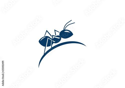 Vászonkép Ant Logo template