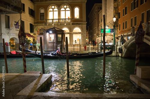 Plakat Gondola w spoczynku
