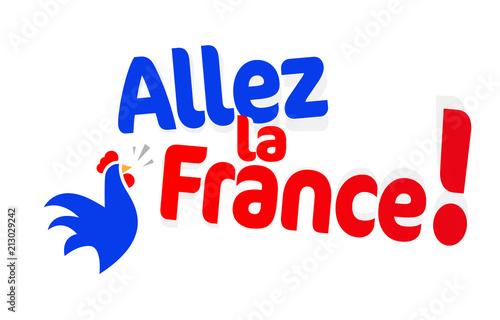 Valokuva  Allez la France !