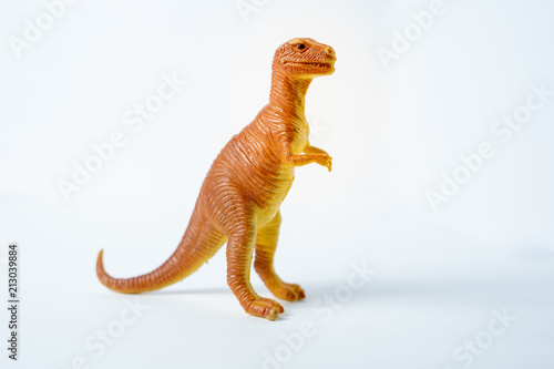 Orange Trex Dinosaur Toy