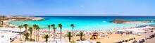 Panorama Of Nissi Beach. Ayia ...