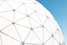 Radar Station - Dome / Radome On