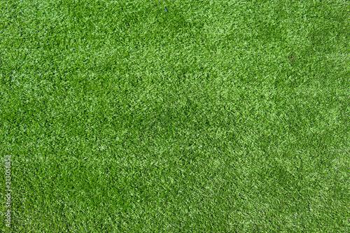 Fotografia Textura de grama sintética de campo de futebol