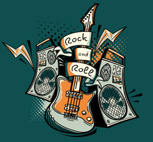 Music Design - Rock And Roll Guitar And Amplifiers