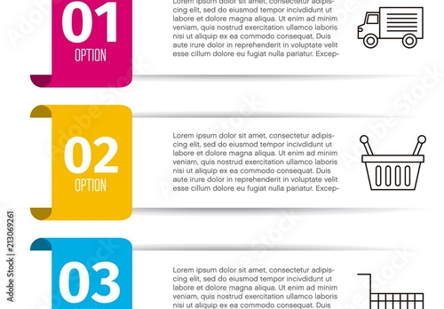 Grocery Infographic Layout By Gstudio Templates