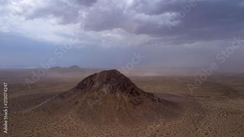 Tuinposter Diepbruine mojave, mojave desert, mojave desert california, desert, antelope valley, california
