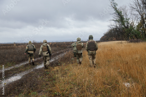Fotografía  Ukraine Donbass military conflict armed forces and tanks to protect freedom and