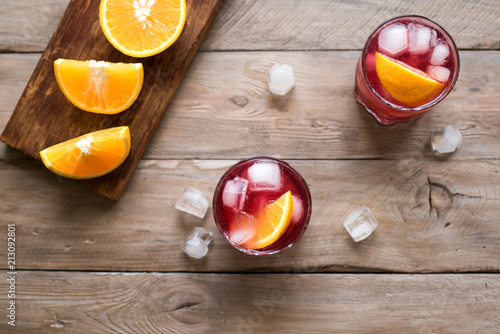 Foto op Plexiglas Cocktail Negroni Cocktail