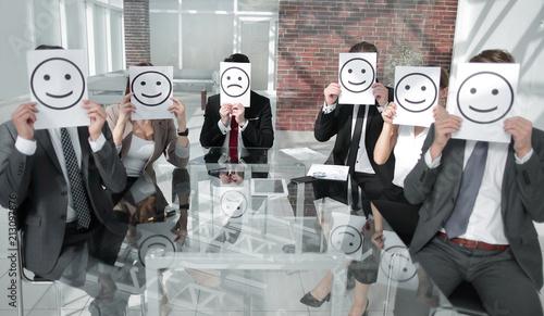 Fotografia  Business Team Feeling Happy