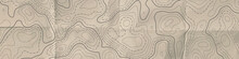 Topographic Line Map. Abstract...