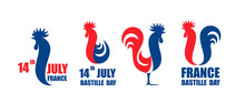 Happy Bastille Day, 14 July. V...