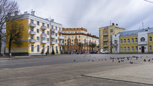 Old Buildings In The Central Part Of Smolensk, Russia.