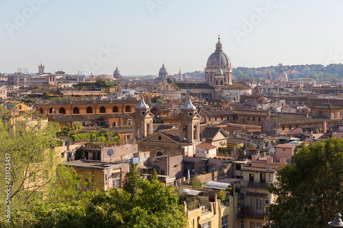 Foto op Aluminium Centraal Europa Skyline of Rome, Italy. Rome architecture and landmark. Rome cityscape