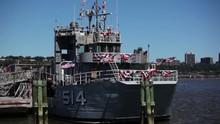 USS Baylander Boat In New York...