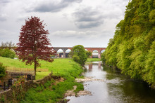 Whalley Viaduct Lancashire UK