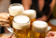 ビール・乾杯