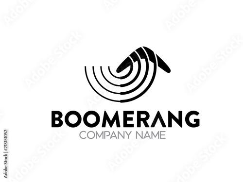 Fényképezés boomerang logo