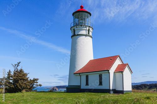 Fotografie, Obraz  Cape Blanco Light - Oregon Pacific Coast