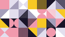 Geometric Pattern Background O...
