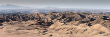 View Of Desert Landscape Moon ...