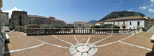 Cerreto Sannita - Panoramica del sagrato di San Martino Wallpaper Mural