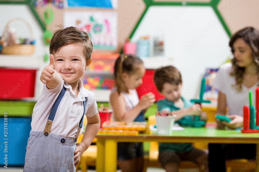 Fototapety, obrazy: Preschool Child