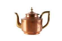 Vintage Copper Brass Tea Pot