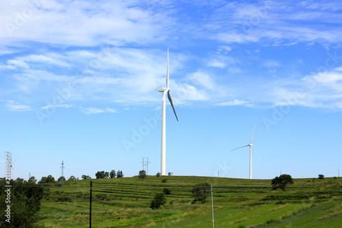 Fotografie, Obraz  Wind power tower