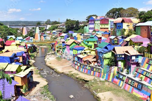 Kampung Tridi Malang S Colorful Suburb In Malang City Indonesia Buy This Stock Photo And Explore Similar Images At Adobe Stock Adobe Stock