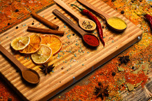 Culinary Arts Concept. Spoon F...