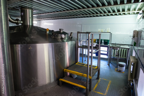 Foto op Aluminium Luchthaven Modern interior of a brewery