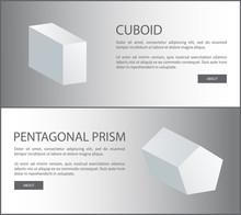 Cuboid And Pentagonal Prism Ve...