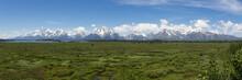 Grand Teton View From Jackson Lodge