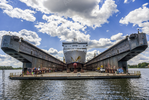 Ship built in the shipyard in Poland.