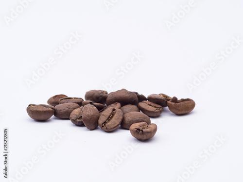 Deurstickers koffiebar mehrere kaffeebohnen