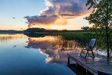 Midsummer Midnight In Southern Finland