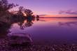 Sonnenuntergang Abenddämmerung fränkische Seenplatte
